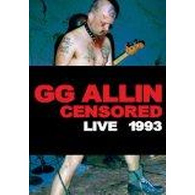 GG Allin - (Un)Censored: Live 1993 [DVD] [2014]